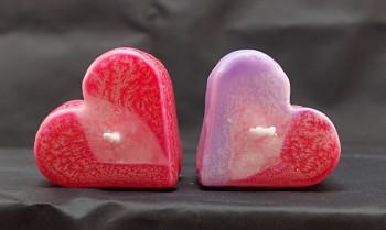 Plovoucí svíčka - srdce