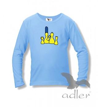 Dětské tričko s vtipným potiskem - Simpsons
