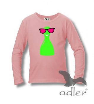 Dětské tričko Bukaj s vtipným potiskem - Vysmátá figurka