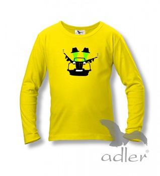 Dětské tričko Bukaj s vtipným potiskem - Mafia