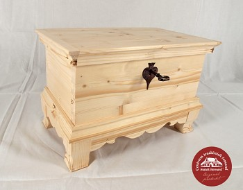 Dřevěná truhla - šperkovnice