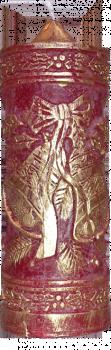 Svíce Zvonečky 2 - zlacené