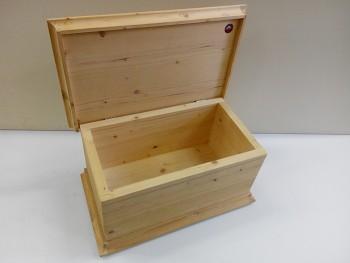 Dřevěná truhlička standart