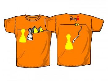 Triko s vtipným potiskem - Bukaj - Mumie