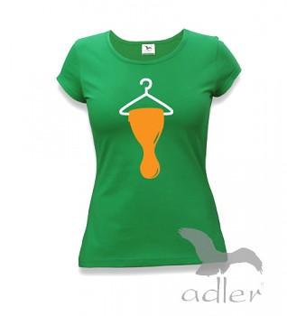Dámské triko s vtipným potiskem - Bukaj - Ramínko