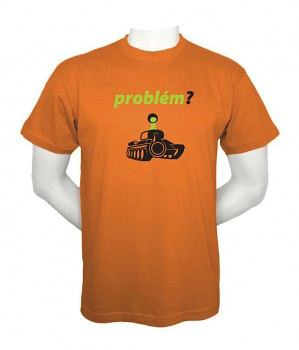 Pánské triko Bukaj s vtipným potiskem - Problem?