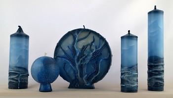 Vonné svíce - kolekce Ledová Královna