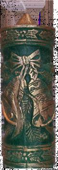 Svíčka Zvonečky 1 - zlacené