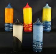 Vonná svíčka - Žíhaný válec