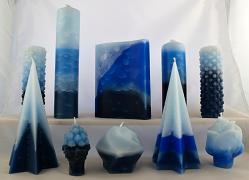 Vonné svíce - kolekce Nebe