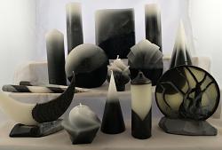 Vonné svíce - kolekce Retro