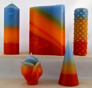 Vonné svíce - kolekce Květina