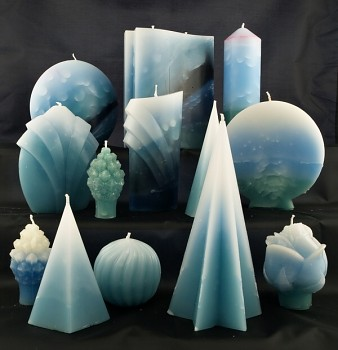Vonné svíce - kolekce Tyrkys