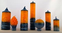 Vonné svíce - kolekce Gerbera