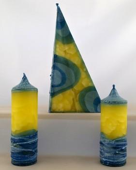 Vonné svíce - kolekce Žluťásek