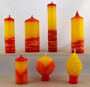 Vonné svíce - kolekce Šarlatová dáma